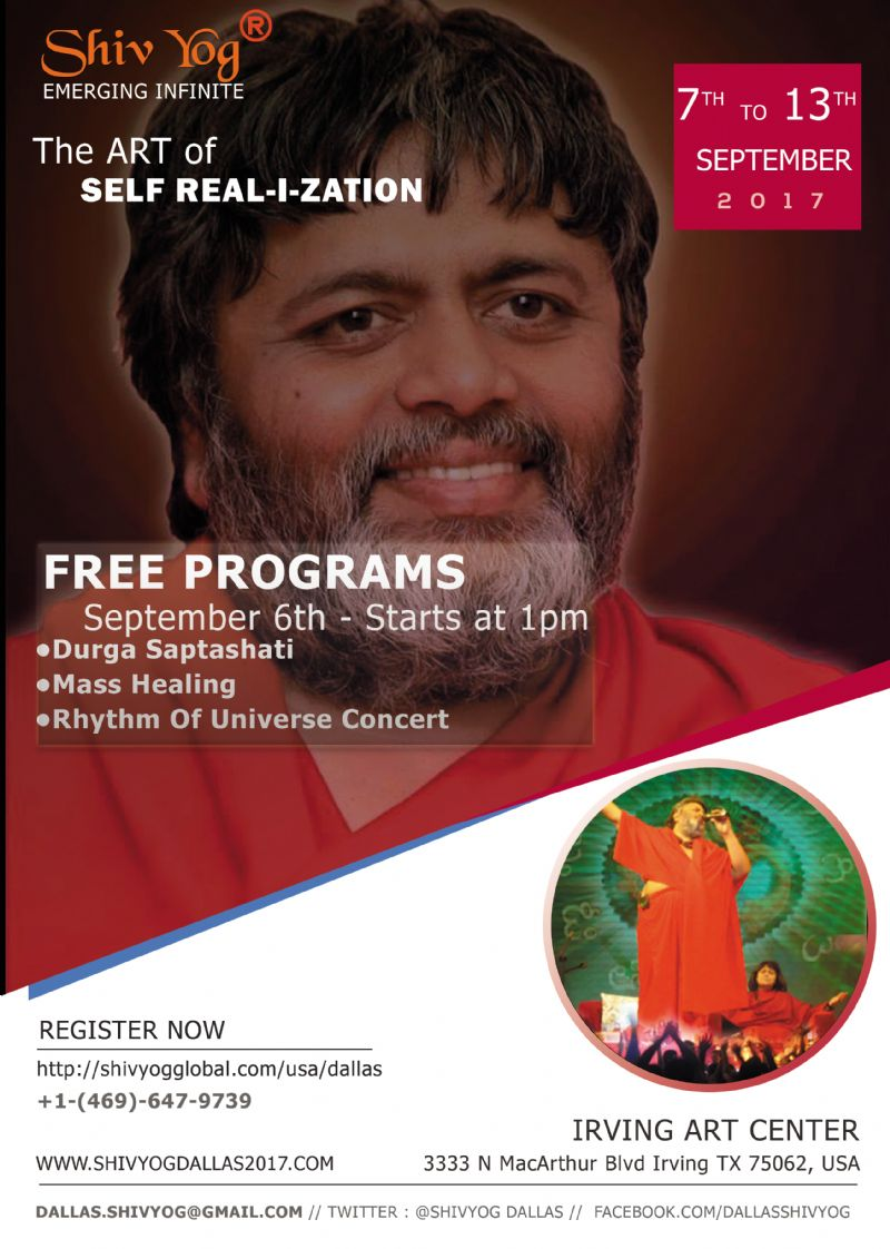 Shiv yog - The Art of SELF-I-ZATION and SHASTIPOORTI Program